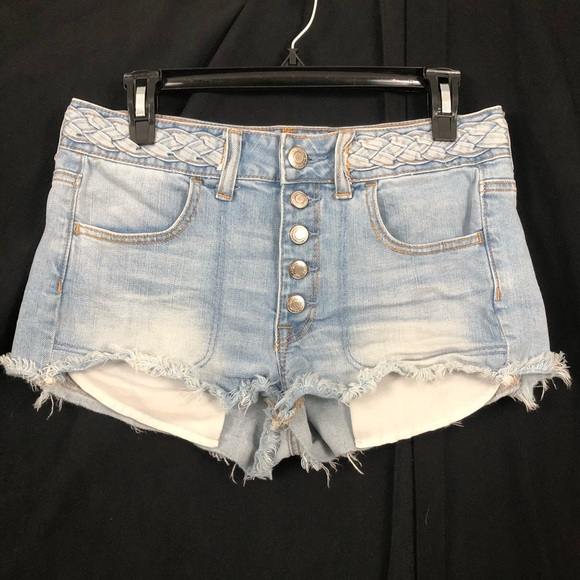 American Eagle Outfitters Pants - American Eagle   Braided Waist. Hi-Rise Shortie